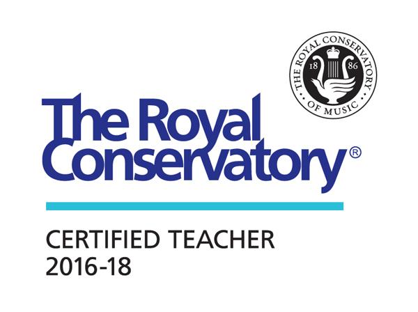 Royal Conservatory of Music Teacher Certification Logo 2016-2018
